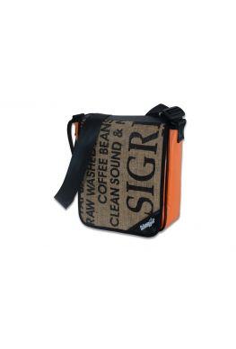 """City Tasche LKW Plane & Kaffeesack """"Orange Sigri"""""""