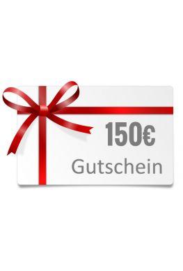150€ Geschenk-Gutschein