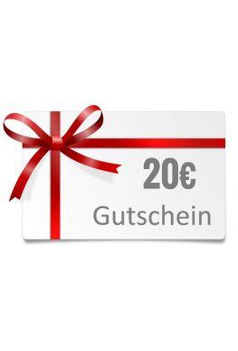 20€ Geschenk-Gutschein