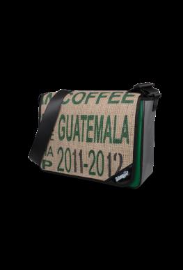 "Tasche LKW Plane & Kaffeesack ""Green Coffee"""