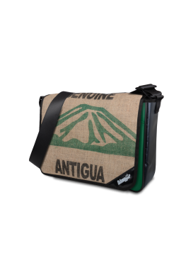 "Tasche LKW Plane & Kaffeesack ""Green Antigua"""