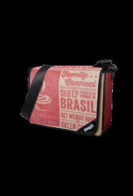 """Tasche LKW Plane & Kaffeesack """"Red Brasil"""""""